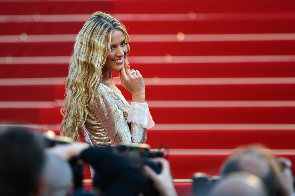 . Petra Nemcova attends the \'Behind The Candelabra\' premiere during The 66th Annual Cannes Film Festival at Theatre Lumiere on May 21, 2013 in Cannes, France.  (Photo by Pascal Le Segretain/Getty Images)
