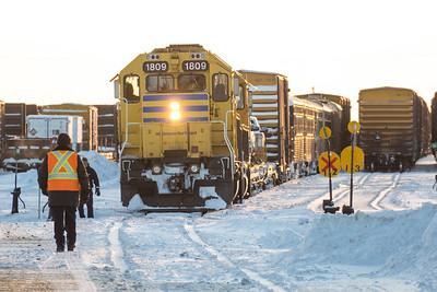 Cochrane Polar Bear Express 2018 February 1st