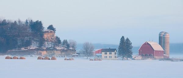Sauk County Wisconsin - Winter 2010