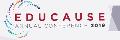EDUCAUSE Annual Conference 2019