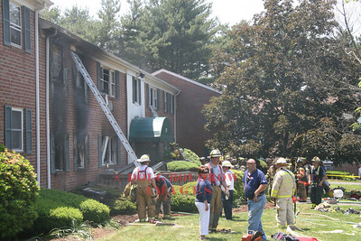 Rocky Hill, CT -  3rd Alarm, 1 Marshall Road, 6-10-08