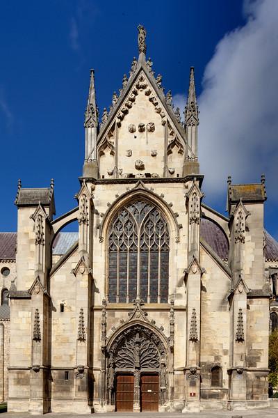Reims, Saint-Remi Basilica South Facade