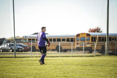 10-24-18 Bluffton HS Boys Soccer vs Continental - Semi Districts