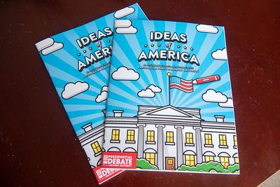 Ideas of America Debate 2020 coloring book