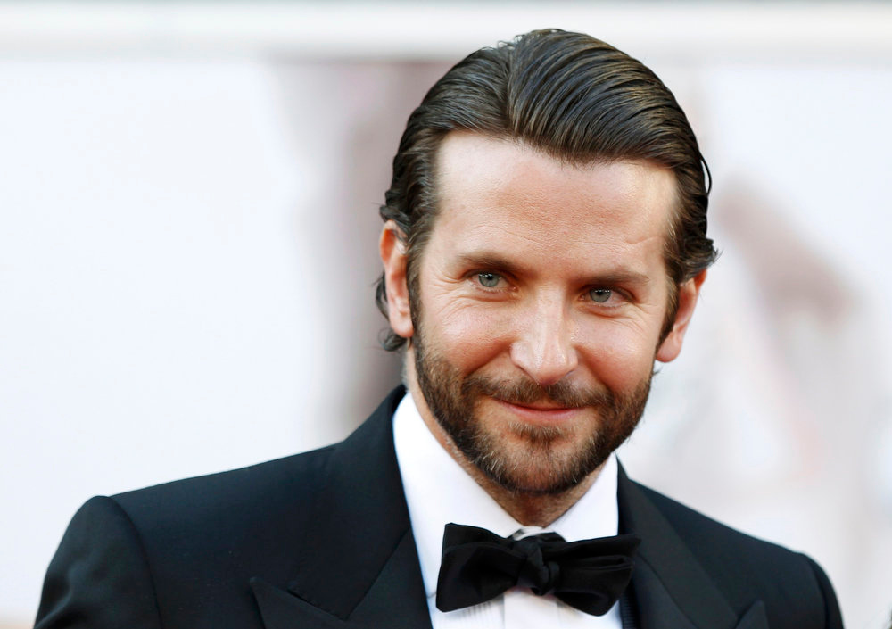 Description of . Bradley Cooper, best actor nominee for his role in