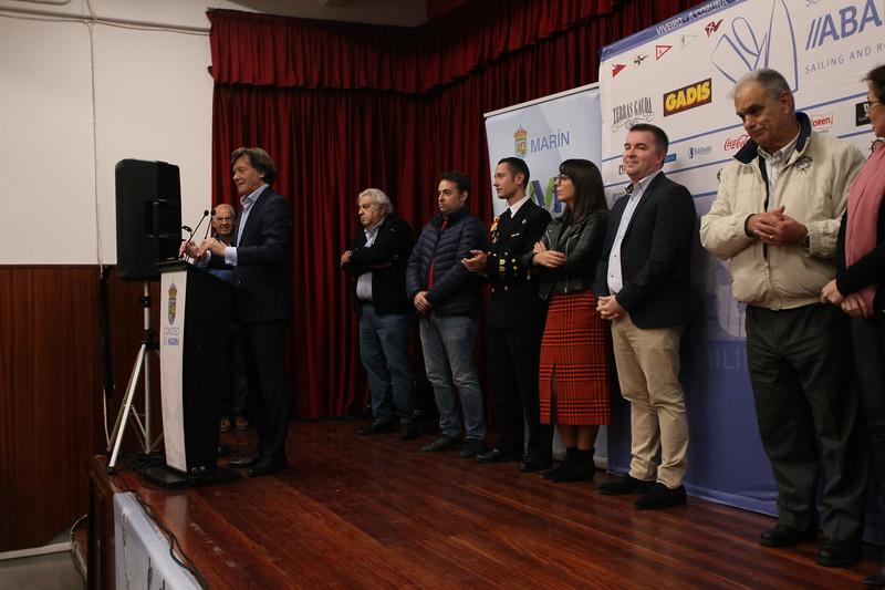 b'VIVEIRO-A , CORUN , ABA , SAILING , AND , R , TENRAS , GAULA , GADIS , Concello , de , MARIN , ORen , Coca-Cola , Carr , Sailway , DIGITAL , ROFICIAL , XUNTA , CONCELO , DE , MARIN , AILI , Abanca , WRBQ-FM , University of Burgos , '