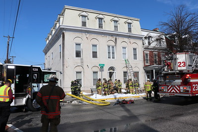 Structure Fire - East Main Street - February 21, 2019