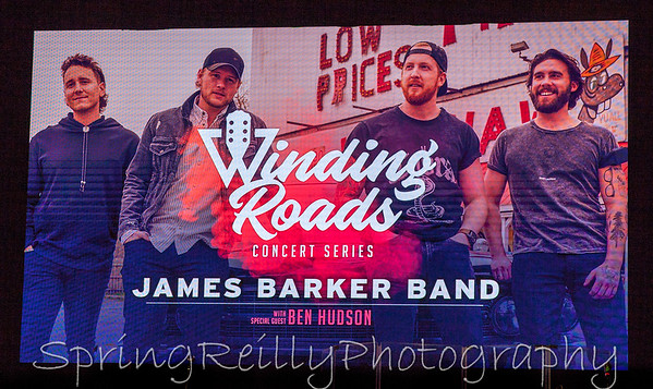 2019 Winding Roads-The James Barker Band with Ben Hudson