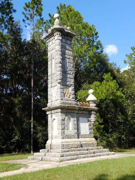 Olustee Confederate Monument.JPG