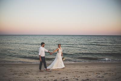 Michael & Katie | St. George Island | Wedding