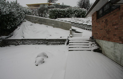 December 2008 Snow in Seattle