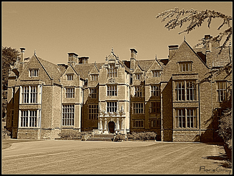 """""""Home Again""""; Wroxton Abbey, Oxfordshire   Magnificent!  We are fortunate to occasionally call it our 'summer home'."""
