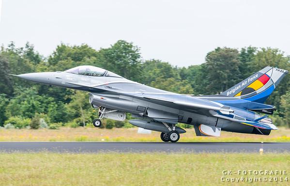 Luchtmachtdagen 2014 Arrivals