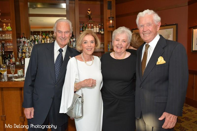 Hal Sherley, Frankie Baxter, Carole Sherley and Pat Hunt