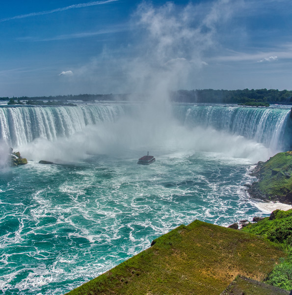 The American side of Niagara Falls