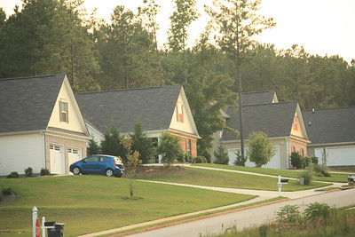 Senoia House Construction 2005