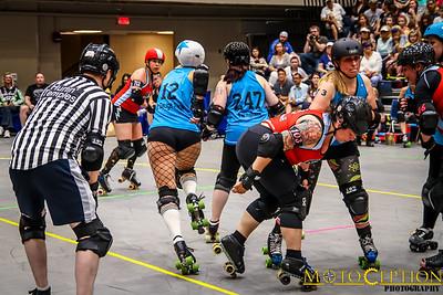 Peach State Roller Derby Double Header - 04/30/16