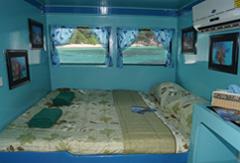 Top Deck Double Cabin, MV Similan Explorer Liveaboard