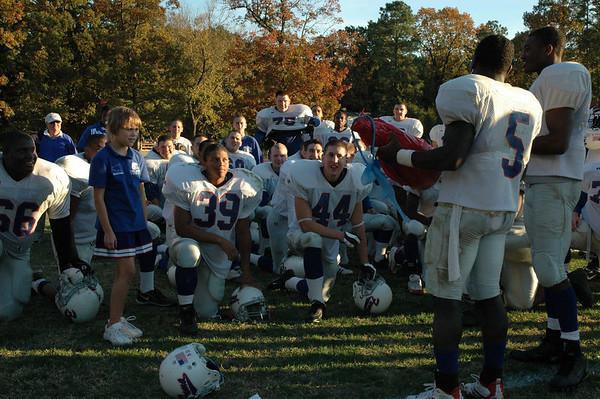 FUMA's Cheerleader Honored by Team