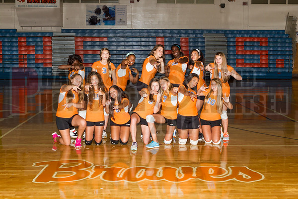 Boone Girls Volleyball Team Pictures - 2014