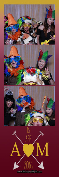 Aaron and Melissa Photo Booth