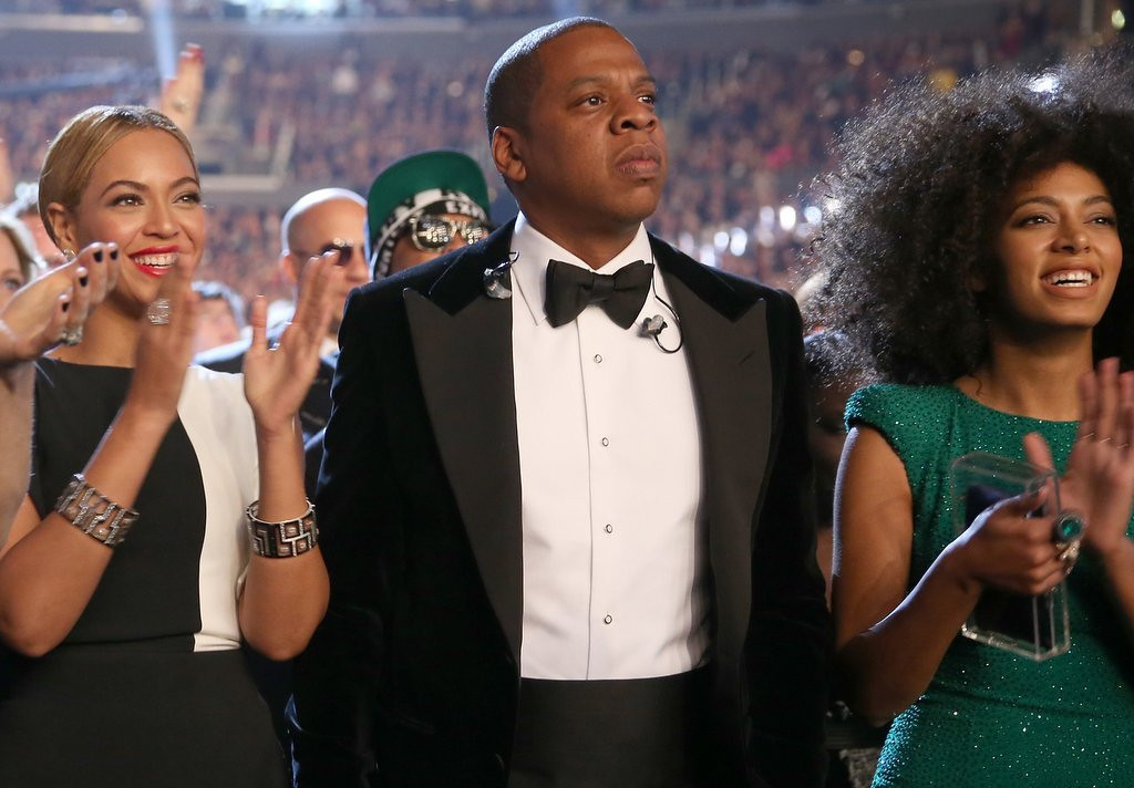 """. <p><b> Security camera footage from a New York hotel has revealed that hip hop star Jay-Z now has � </b> <p> A. A beef with his sister-in-law <p> B. Ineffective security guards <p> C. 100 problems <p><b><a href=\'http://www.twincities.com/celebrities/ci_25769788/beyonce-jay-z-solange-moving-past-attack-video\' target=\""""_blank\""""> LINK </a></b> <p>    <br> <p><b>ANSWERS</b> <p> The correct answer is always \""""A\"""" ... unless you feel very strongly otherwise. <p> <br><p><i> You can follow Kevin Cusick at <a href=\'http://twitter.com/theloopnow\'>twitter.com/theloopnow</a>.</i>    (Christopher Polk/Getty Images for NARAS)"""