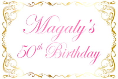 Magaly's 50th Birthday at Maestros