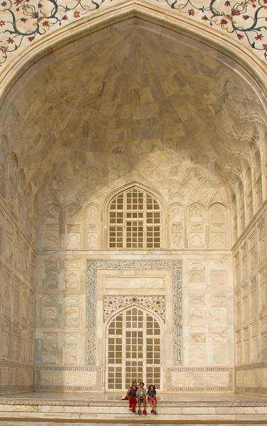 The Taj - it is really big.