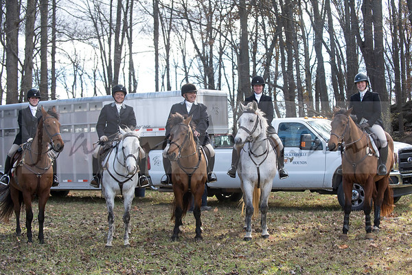 Snickersville Hounds Blessing at Frog Hollow 11-22