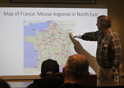 Meuse Argonne WWI talk at Devens 011820