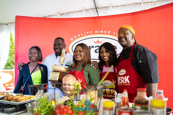Grace Jamaican Jerk Festival New York at Roy Wilkins Park