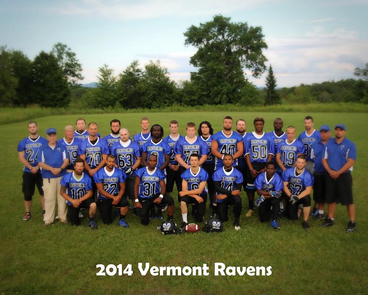 Vermont Ravens 2014 Team Photo Session