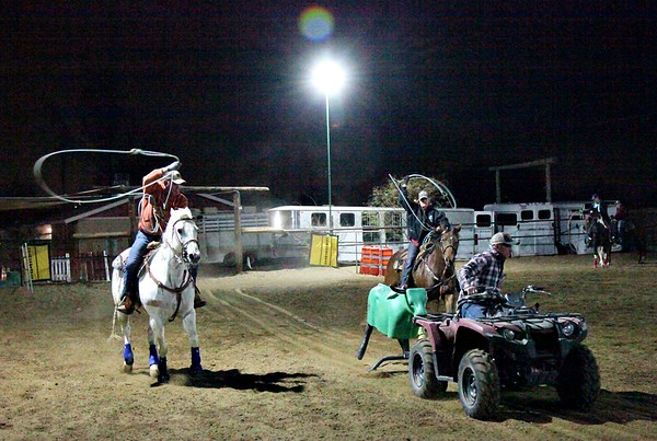 March 2021: AZTrail Riding: Roping Practice
