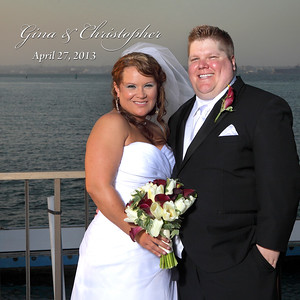 Gina & Chris @ Coronado Kays Yacht Club