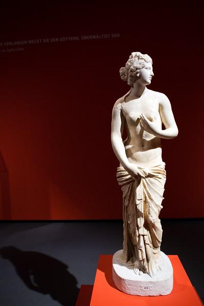Aphrodite, marble sculpture, 2nd century B.C., Pergamon Museum, Berlin, Germany