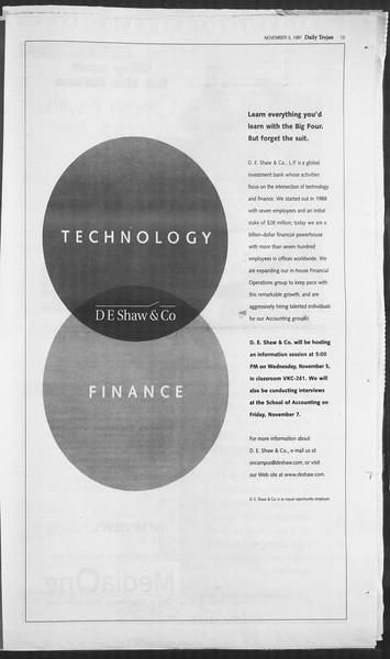 Daily Trojan, Vol. 132, No. 48, November 05, 1997
