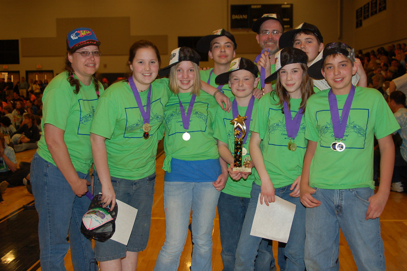 Jaffrey Rindge Middle School, Instinct Messaging, Middle Level, 1st Place.
