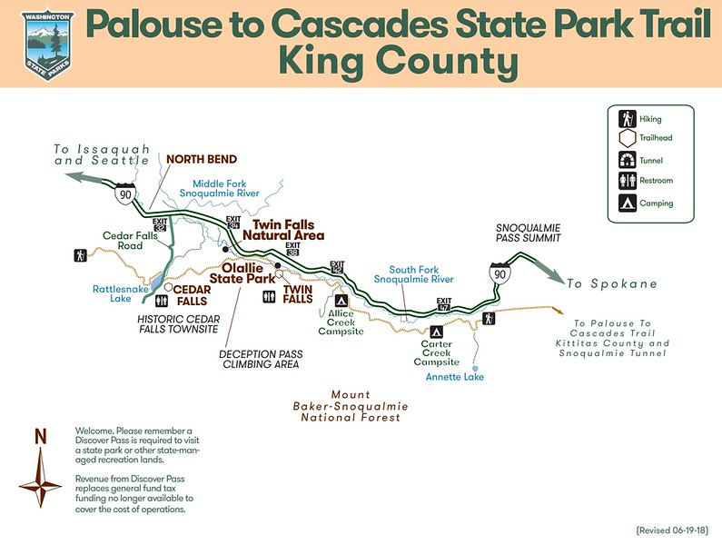 Palouse to Cascades State Park Trail (King County)
