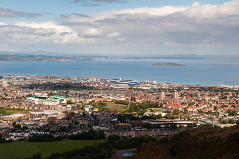 Lochend, Restalrig, Leith and the Firth of Forth