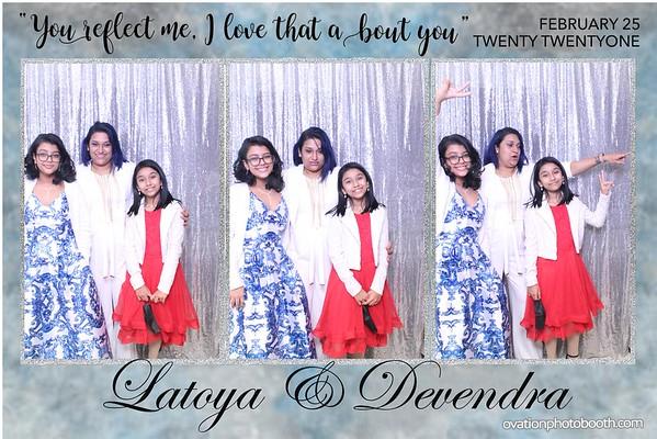 Latoya & Devendra 2 25 21