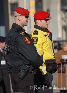 Military security at the 2009 Remembrance Day Ceremony in Ottawa, Ontario.  © Rob Huntley