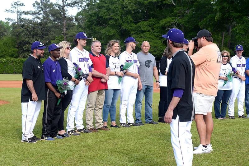 2019 - Upson Lee Baseball Senior Night