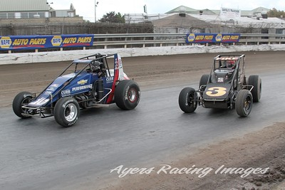 Super Dirt Week-USAC Silver Crown, October 11, 2014, Ayers Racing Images