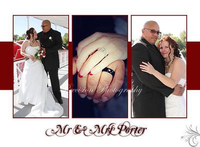 Mr & Mrs Marshall Porter