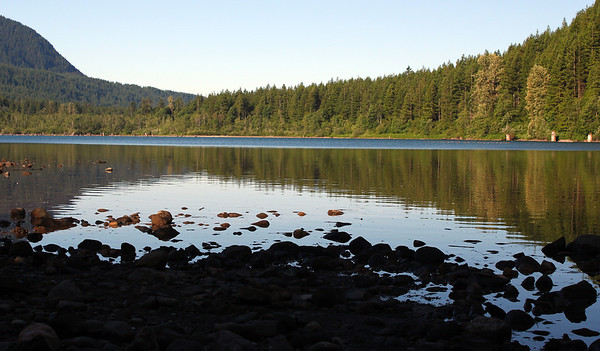 Rattlesnake lake scenes