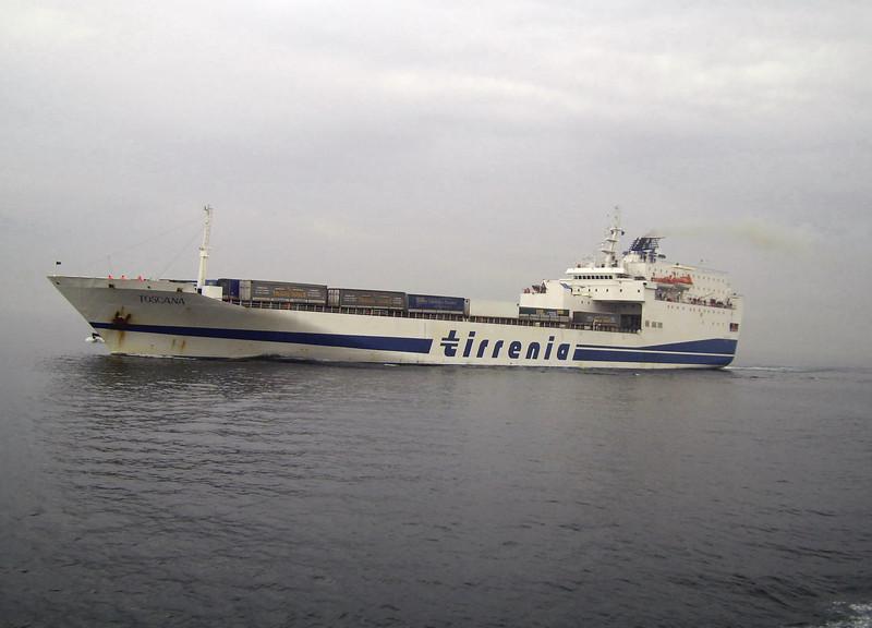 2008 - F/B TOSCANA at sea.