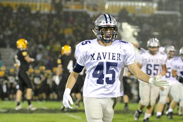 Waverly -Shellrock vs. Xavier Football  10/7/16