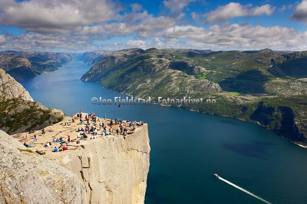 Fjorder i Norge