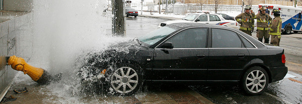 March 2, 2008 - Car vs Hydrant - Strachan / Wellington
