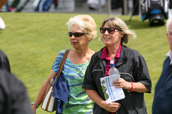 Golf fans arriving to watch the action on the 1st tee on the 2nd day of competition  in the Asia-Pacific Amateur Championship tournament 2017 held at Royal Wellington Golf Club, in Heretaunga, Upper Hutt, New Zealand from 26 - 29 October 2017. Copyright John Mathews 2017.   www.megasportmedia.co.nz